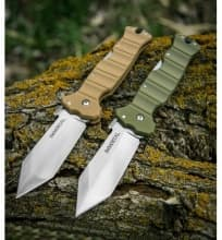 Нож Cold Steel модель 23GVB Immortal Coyote Tan