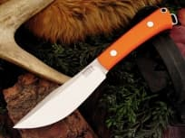 "Нож фирмы Bark River ""Trailbuddy 3 Blaze orange G-10"""